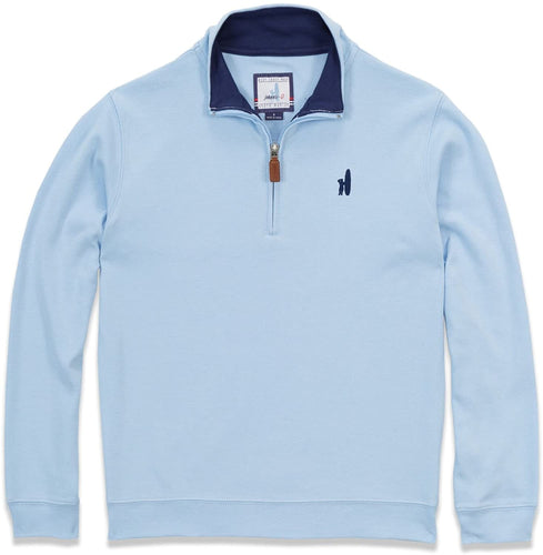 johnnie-O Boy's BALBOA 1/4 Zip Pullover, in CLOUDBLUE size 10