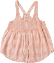 Load image into Gallery viewer, O'Neill Girls Cassy Woven Tank Top, (PNK) Pink, Girls Size Medium (10/12)