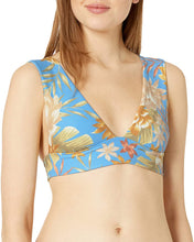 Load image into Gallery viewer, Billabong Women's Palm Rise Plunge Bikini Top