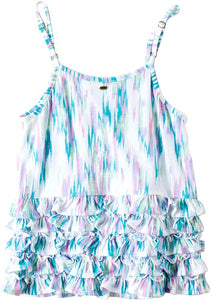 O'NEILL Girls Maisy Dress, (WHT) White - Indi Surf