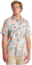 Load image into Gallery viewer, Quiksilver Men's Hot Tropics Short Sleeve Shirt, Multicolored, Size Small
