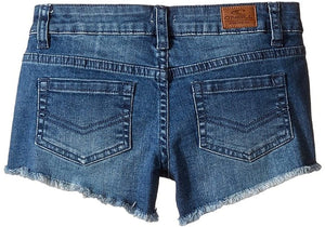O'Neill Girls Camper Denim Walkshorts, (BLG) Blue Grass Wash, Girls Size 14