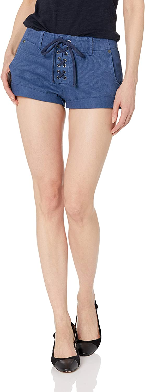 RVCA Women's Valley Twill Lace-Up Short - Indi Surf