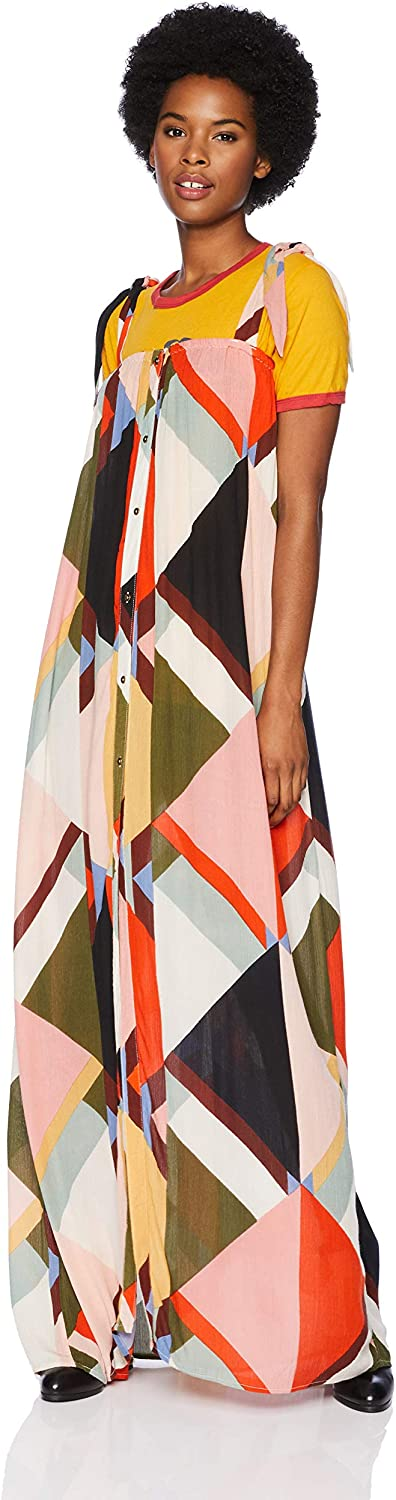 Billabong Women's Rainbow Gate Printed Maxi Dress, Size X-Small