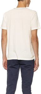 RVCA Men's Hatch Box Short Sleeve T-Shirt, (VWT) Vintage White, Size Small