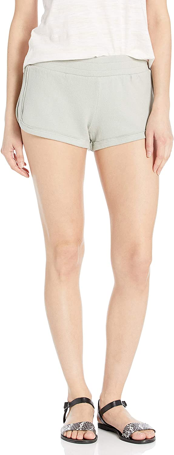 RVCA Women's Daydream Knit Elastic Short, (SGE) Sage, Size Medium