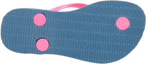 Havaianas Girls Slim Flip Flop Sandals, Logo Pop Up, (Toddler/Little Kid)