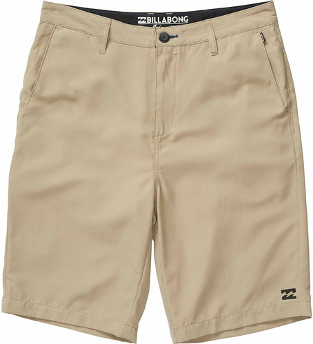 Billabong Boy's Carter Submersible Walkshorts, (KHA) Khaki