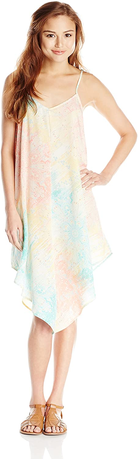 O'Neill Juniors Lexi Printed Woven Tank Dress, (MUL) Multicolored - Indi Surf