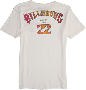 Billabong Men's Classics Short Sleeve T-Shirt, (WHT) Size X-Large