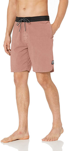 Rip Curl Men's The Wash Layday Side Pocket Boardshorts, Rust