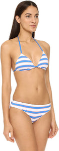 Splendid Women's Reversible Soft Cup Triangle Bikini Top