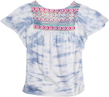 Load image into Gallery viewer, Billabong Kids Girls' Set Away Top (Little, Chambray, SM (7/8 Big Kids)