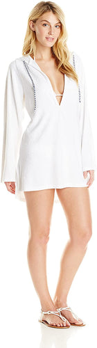 Splendid Women's Sunblock Solids Tunic, White, X-Small