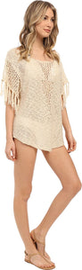 Rip Curl Women's Firefly Cover-up Sweater, (VAN) Vanilla, Size X-Small