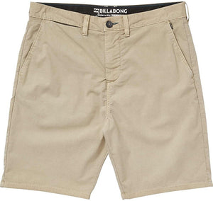 Billabong Boy's New Order X Overdye Submersible Walkshorts, (LKH) Light Khaki, Size 26