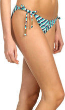 Load image into Gallery viewer, Ella Moss Women's Portofino Tie Side Pant Azure Swimsuit Bottoms XS