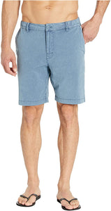 RVCA Men's All Time Rinsed Coastal Hybrid Short