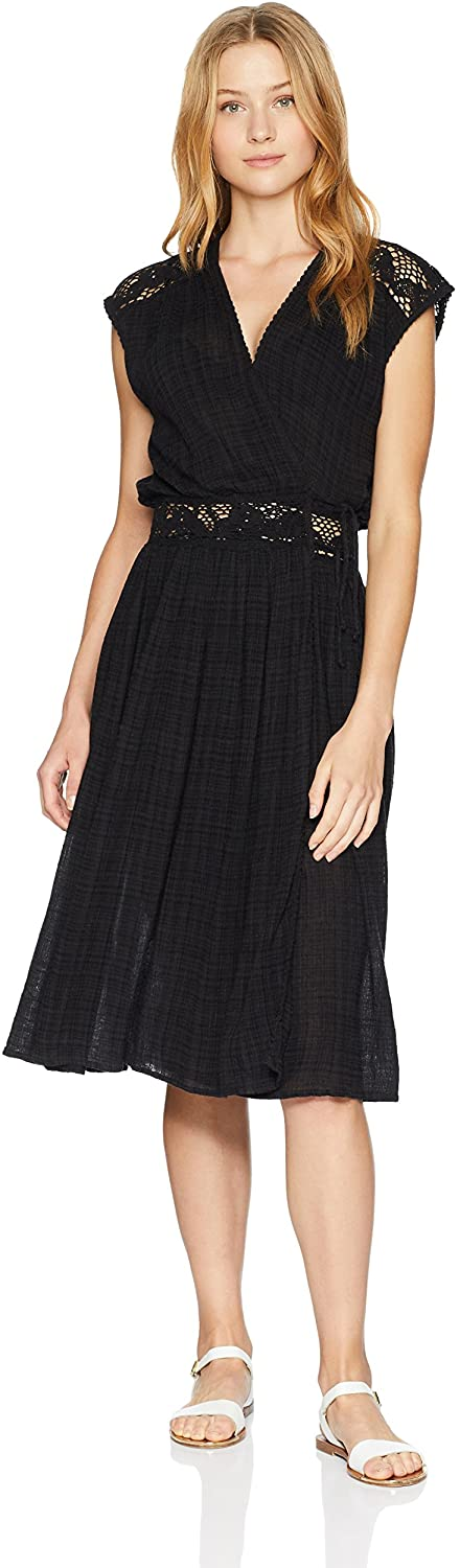 O'Neill Women's Lillian Maxi Cover Up, (BLK) Black