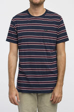 Load image into Gallery viewer, RVCA Men's Jolly Short Sleeve Crew Neck Shirt, (FEB) Federal Blue, Size Medium - Indi Surf