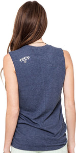 O'Neill Womens Surfer Boys Athletic Shirt, Navy Heather, Small