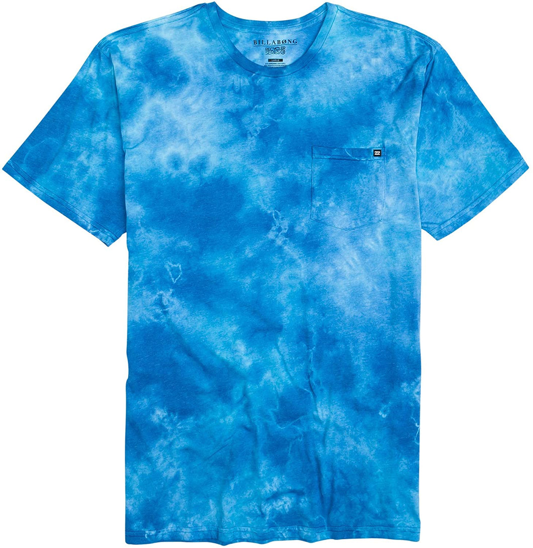 Billabong Men's Essential Tie Dye Short Sleeve T-Shirt