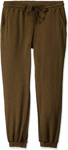 Billabong Women's Here We Go Sweatpant, Olive, Size Large