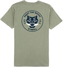 Load image into Gallery viewer, O'Neill FA8118800 Men's Hell Cat Tee Shirt, Sage - Small