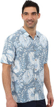 Load image into Gallery viewer, O'Neill Mens Jack O'Neill Sunset Button Up Short-Sleeve Shirt, Light Blue, X-Large