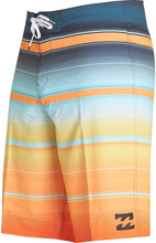 Load image into Gallery viewer, Billabong Men's All Day Stretch Boardshorts, Tangerine Stripe, Size 29 - Indi Surf
