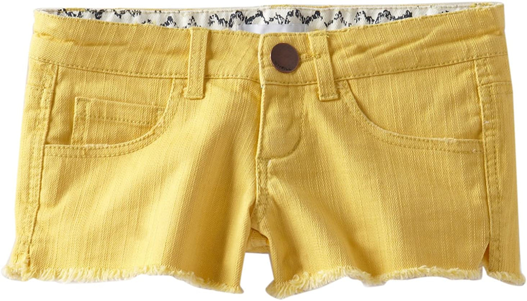 O'Neill Big Girls' Arie Short (BAN) Banana - Indi Surf