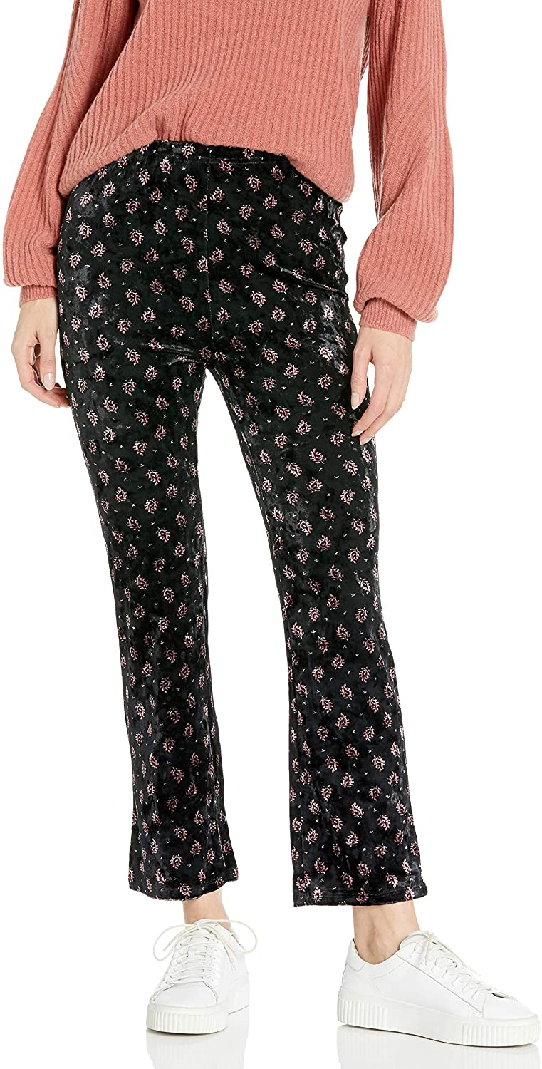Billabong Women's Sun Down Crop Cropped Velvet Pant