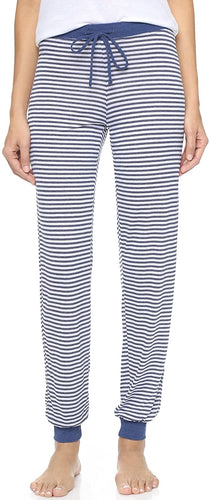 Splendid Women's Malibu Stripe Pants, Navy