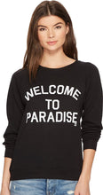 Load image into Gallery viewer, Billabong Women's Welcome to Paradise Crew Neck Sweatshirt