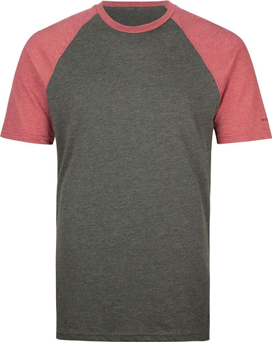 RVCA Men's Camby T-Shirt, (GSK) Grey, Size Small