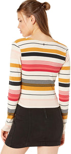 Billabong Women's Wrap City Knit Wrap Top