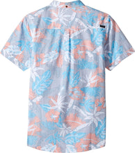 Load image into Gallery viewer, Rip Curl Kids Boy's Sun Glaze Short Sleeve Shirt (Big Kids) Blue SM (7-8 Big Kids)