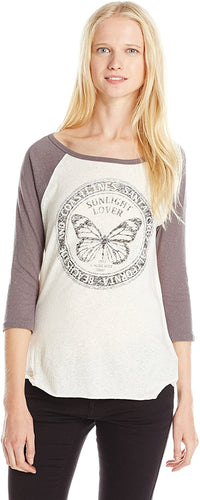 O'NEILL Junior's Sunlight Lover Graphic Baseball Tee
