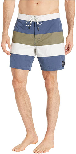 RVCA Men's Noble Striped 18