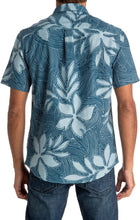 Load image into Gallery viewer, Quiksilver Mens Sunburst Button Up Short-Sleeve Shirt Small Provencial