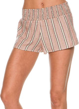 Load image into Gallery viewer, Billabong Juniors Midsummer Tide Yarn Dyed Stripe Short