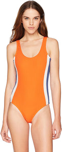 RVCA Women's July Colorblocked One Piece Swimsuit