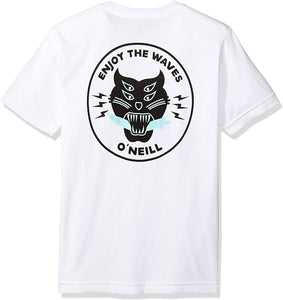 O'NEILL Boys' Big Modern Fit Small Graphic Tee - Indi Surf