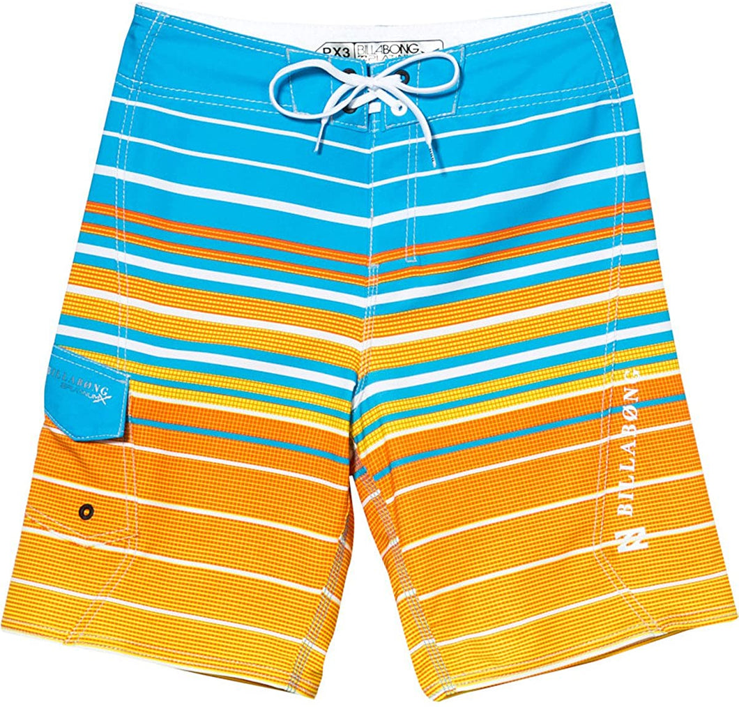 Billabong Boy's & Kid's All Day Faderade Boardshorts, (NEB) Neo Blue & (NEL) Neo Lime