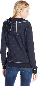 Rip Curl Juniors Starry Eyed Zip Up, (NAV) Navy, Size Medium