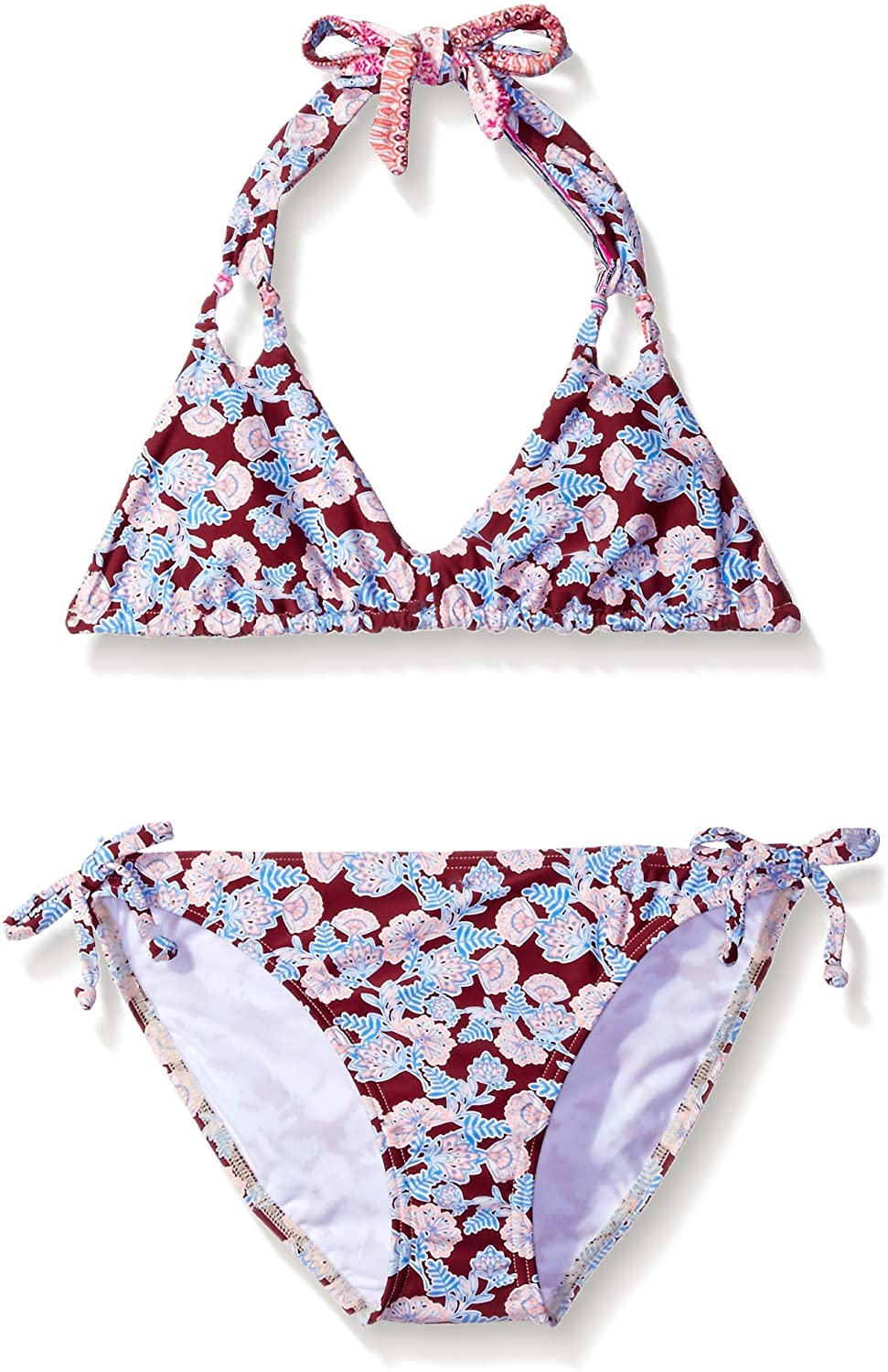 O'NEILL Girls' Big Cruz Revo Halter Swimsuit