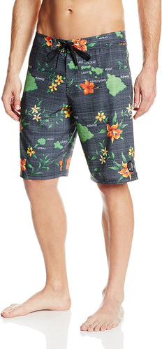 O'Neill Men's Tropical Boardshort, Black