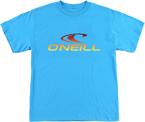 O'Neill Kids Boy's Prism T-Shirt (Big Kids) Turquoise Small