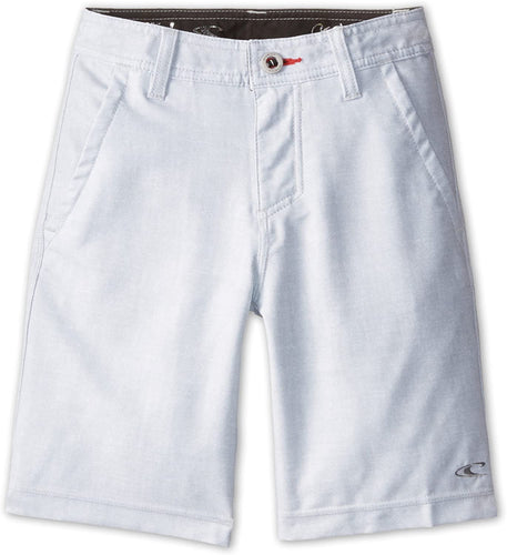 O'Neill Boys Loaded Hybrid Walk Shorts/Board Shorts, (GRY) Grey