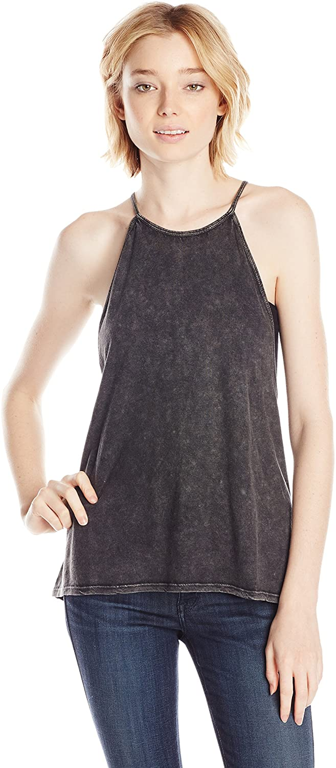 Billabong Juniors' To The Point Knit Cami Tank, OFB (Off Black), Size X-Small